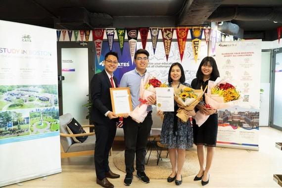 Vietnamese 10th grader wins CATS Academy Boston's US$119,000 scholarship ảnh 1