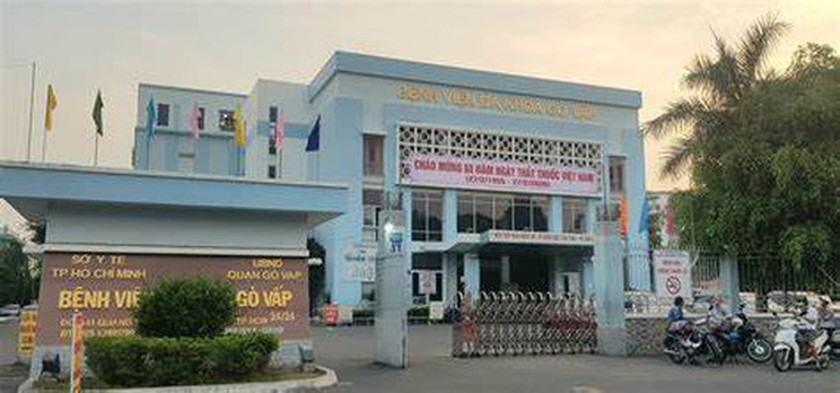 Hospital in Go Vap District stops receiving patients as Covid-19 patient drops in for examination ảnh 1