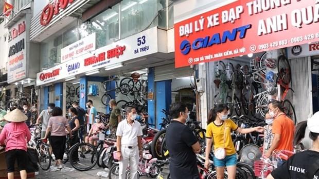 Bicycle sales boom amid pandemic ảnh 1