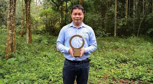 First Vietnamese conservationist receives largest environment award ảnh 1