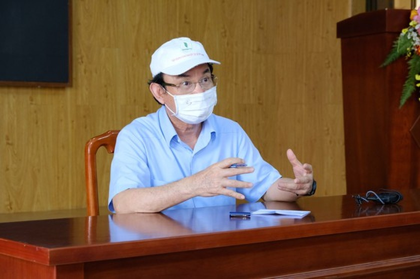 HCMC Party Chief pays unscheduled visits to check Covid-19 preventative task ảnh 2