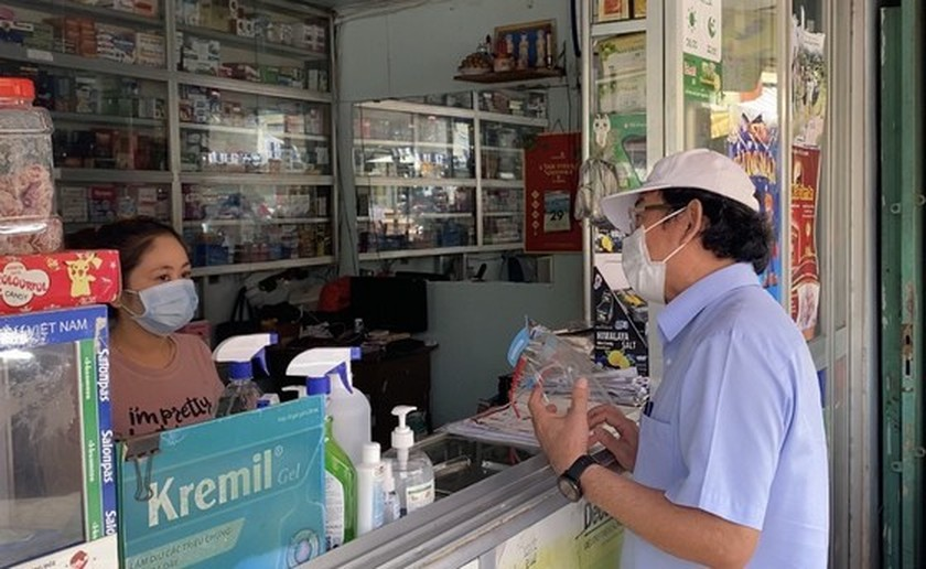 HCMC Party Chief pays unscheduled visits to check Covid-19 preventative task ảnh 4