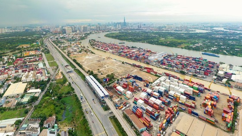 Competent agencies race to build Long Binh port to replace existing Truong Tho port ảnh 1