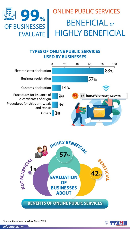Businesses: Online public services beneficial ảnh 1