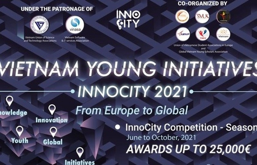 InnoCity 2021 - Vietnam Young Initiatives program to be launched offcially on August 19 ảnh 1