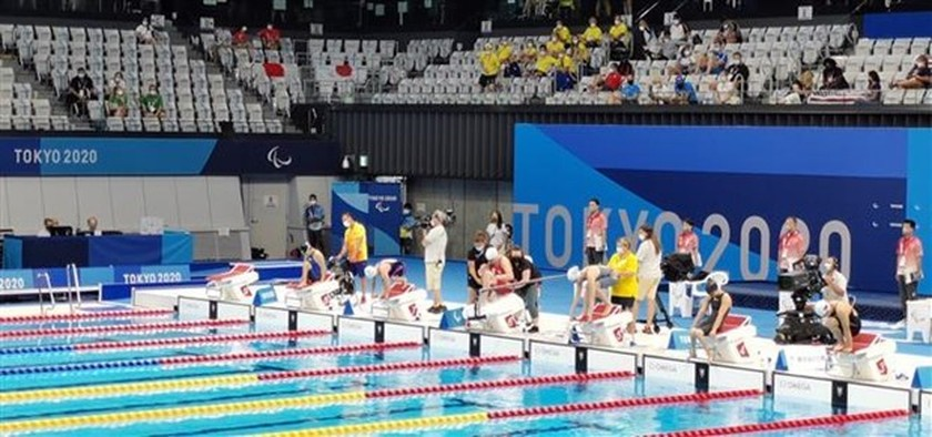 Vietnamese swimmers enter final round at Tokyo 2020 Paralympic Games ảnh 1