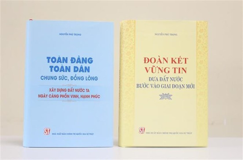 Party chief's two books introduced to public ảnh 1