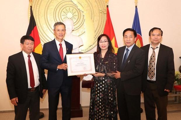 Outstanding overseas Vietnamese in Germany honored ảnh 1