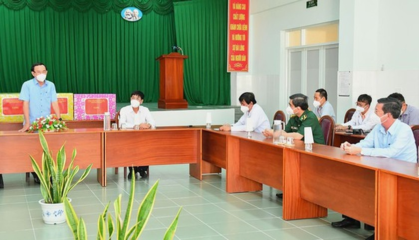 Can Gio needs to focus on upgrade of grass-root healthcare system for new normal life ảnh 1