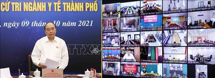 President prompts to draw lessons from Covid-19 to prepare for better response ảnh 2