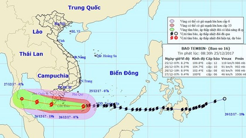 Southern region urgently copes with Tembin  ảnh 3