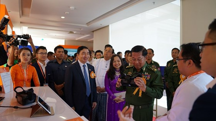 MyTel launches first calls in Myanmar  ảnh 1