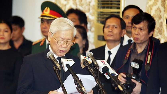 Vietnamese people bid last farewell to late PM Phan Van Khai  ảnh 1