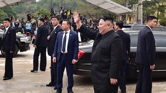 DPRK President Kim Jong-un ends official friendly visit to Vietnam  ảnh 1