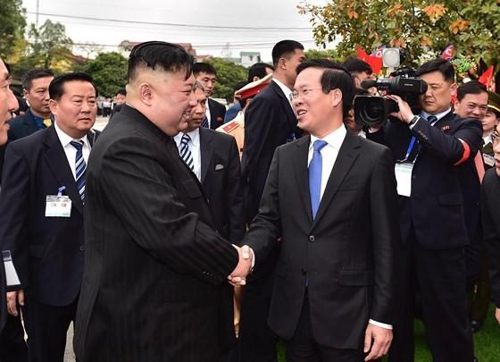 DPRK President Kim Jong-un ends official friendly visit to Vietnam  ảnh 2