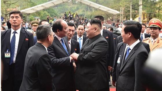 DPRK President Kim Jong-un ends official friendly visit to Vietnam  ảnh 3