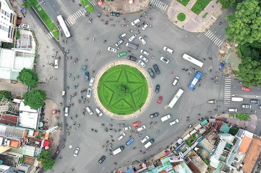 HCMC roundabouts have their owned history ảnh 4