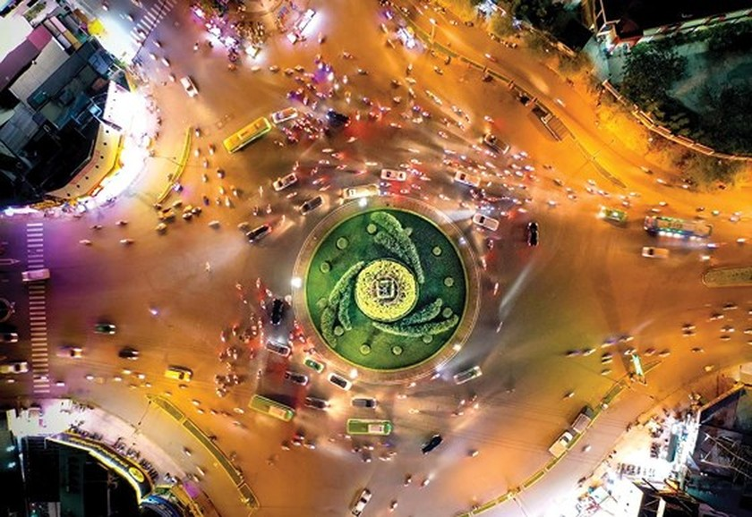 HCMC roundabouts have their owned history ảnh 5
