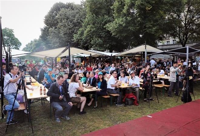 Vietnamese beer joins int'l beer festival in Berlin ảnh 1