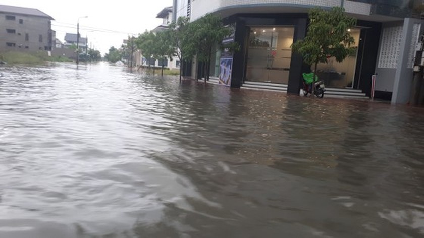 Many schools in Ha Tinh closed due to heavy downpour  ảnh 3