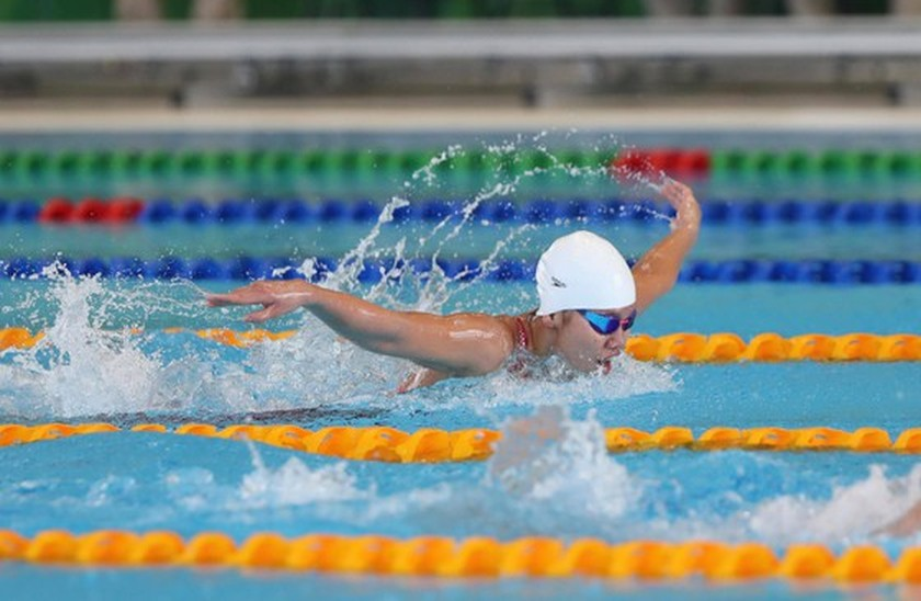 Vietnamese swimmers earn five medals in fourth day of SEA Games 30 ảnh 1