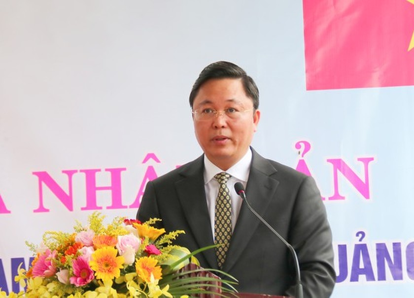 Quang Nam kicks off tree-planting ceremony of Oga lotus flowers ảnh 1