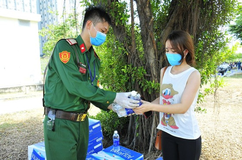 Over 2,6000 people complete centralized isolation in HCMC  ảnh 2
