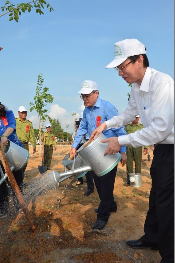 City launches tree planting movement  ảnh 1