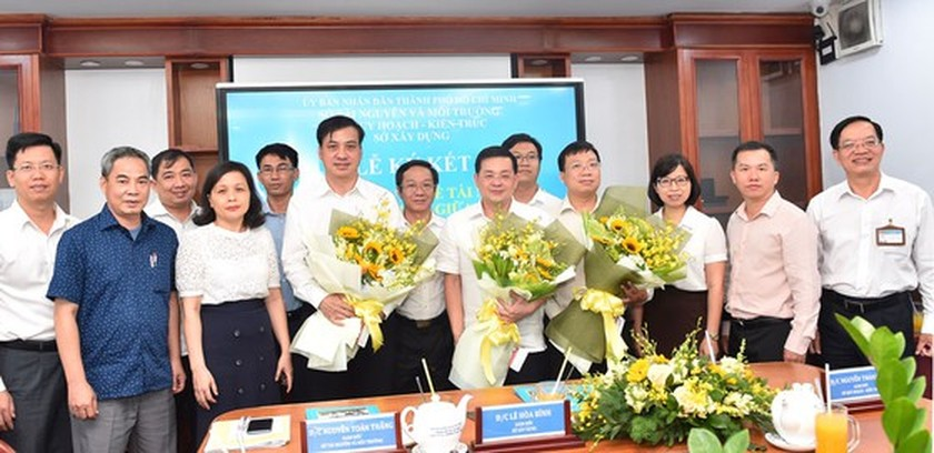 Municipal departments cooperate, share data of resources, planning, construction ảnh 1
