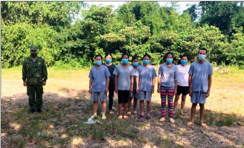 Six people prosecuted for illegally bringing Chinese into Vietnam  ảnh 1