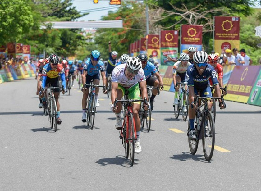6th, 7th stage finish of VTV Cycling Tournament - Hoa Sen Cup changed  ảnh 1
