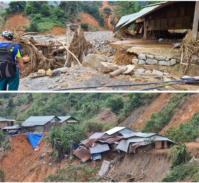 Phuoc Loc Commune chaos after storm, landside, flashflood ảnh 7