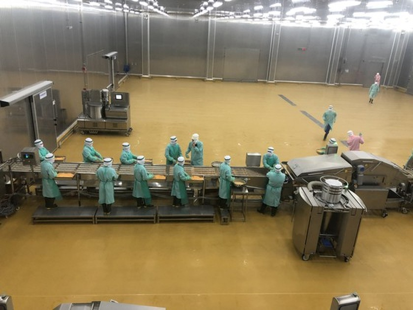 Binh Phuoc puts Southeast Asia's largest chicken processing plant into operation ảnh 1