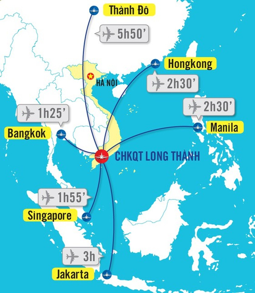 First phase of Long Thanh International Airport started work  ảnh 1
