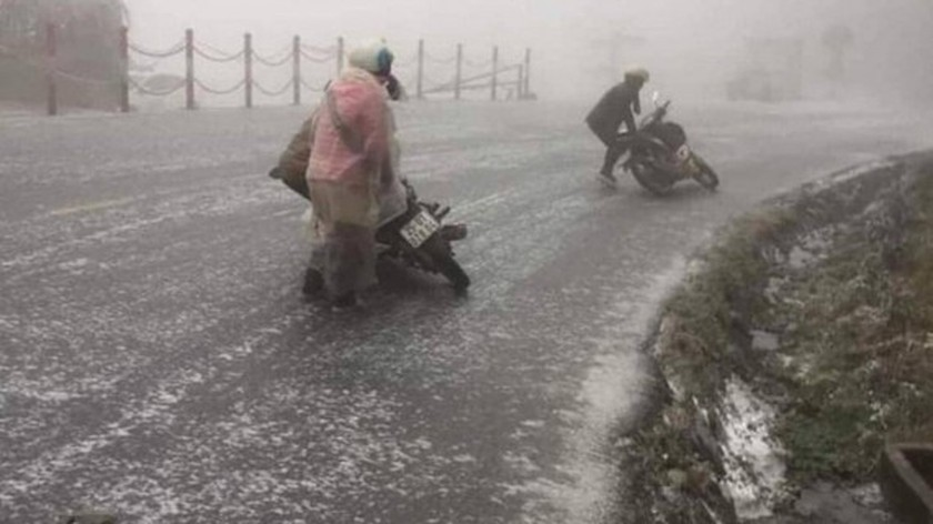 Northern region suffering from intensified gelid cold ảnh 1
