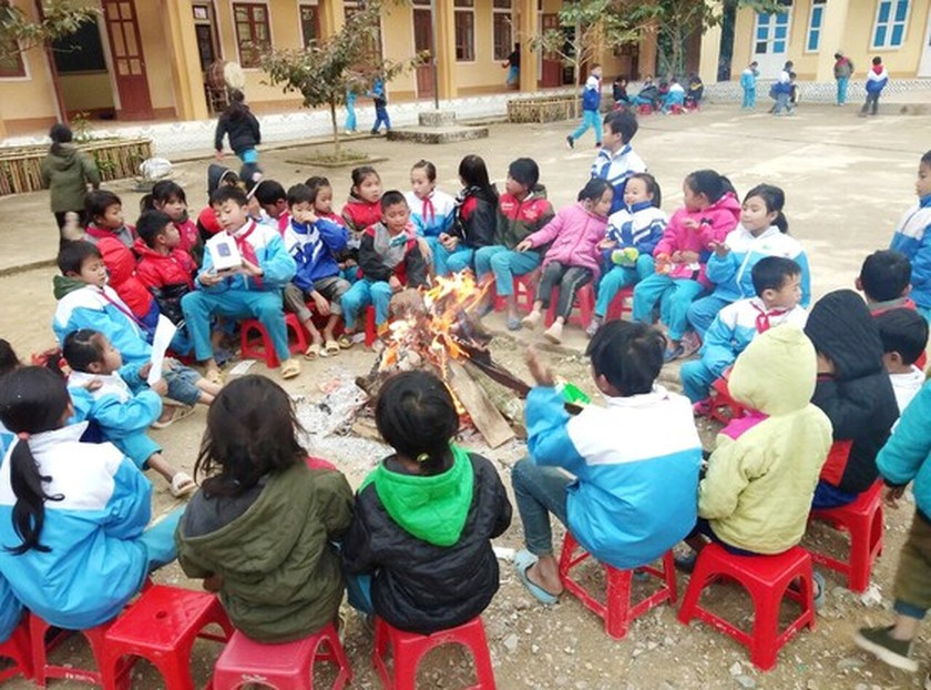 Northern people contrive to live under current gelid cold  ảnh 6