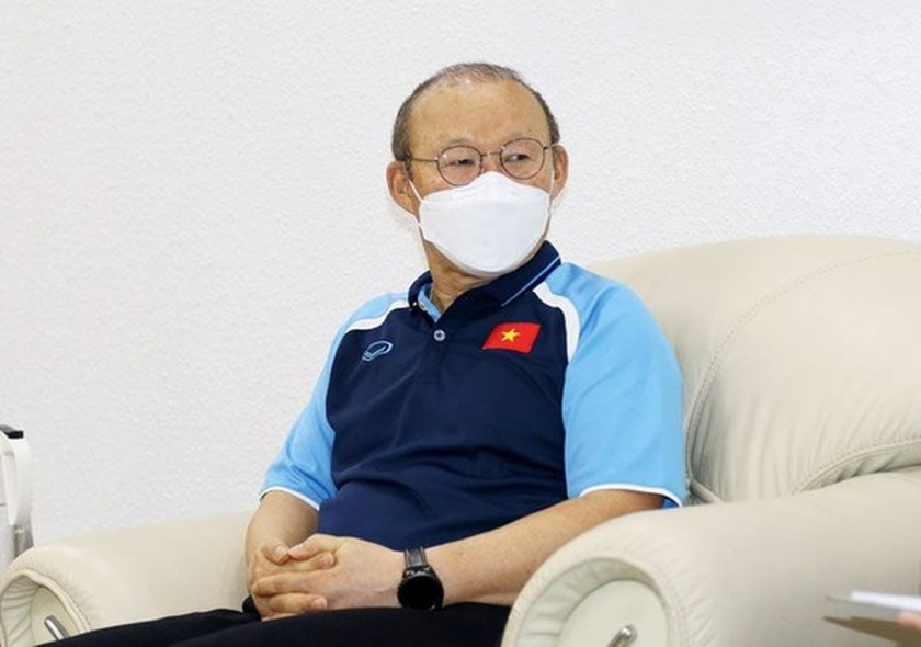 Coach Park Hang-seo completes 14-day quarantine period due to Covid-19 ảnh 1