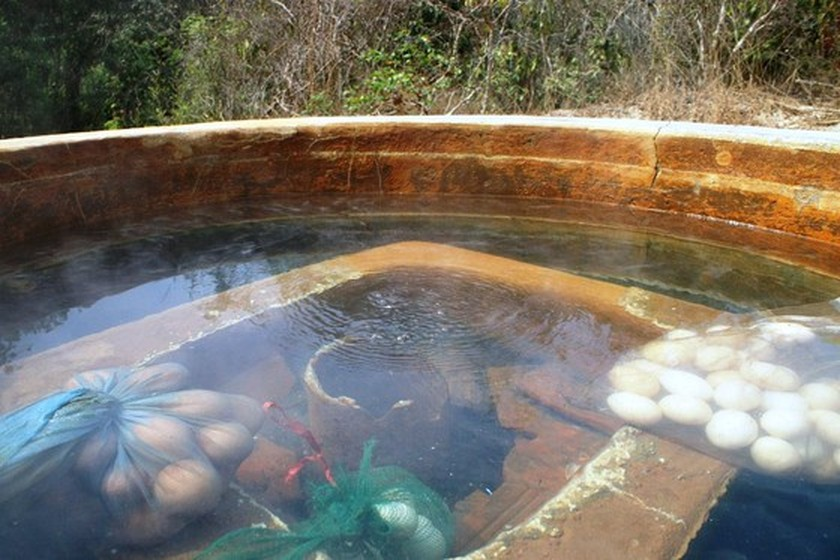 Bung Thi Hot Spring becomes new attractive tourist attraction in Binh Thuan ảnh 2