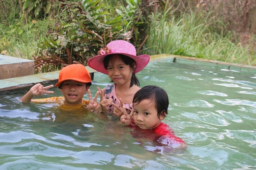 Bung Thi Hot Spring becomes new attractive tourist attraction in Binh Thuan ảnh 3