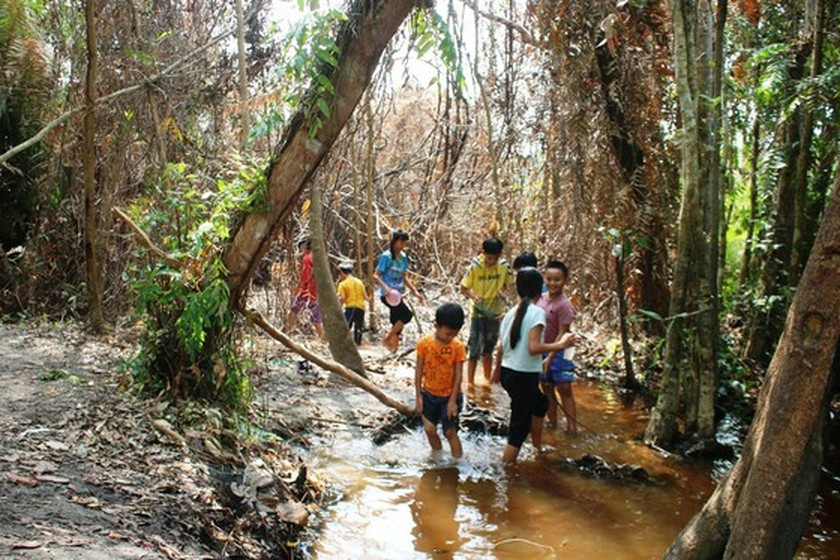 Bung Thi Hot Spring becomes new attractive tourist attraction in Binh Thuan ảnh 6