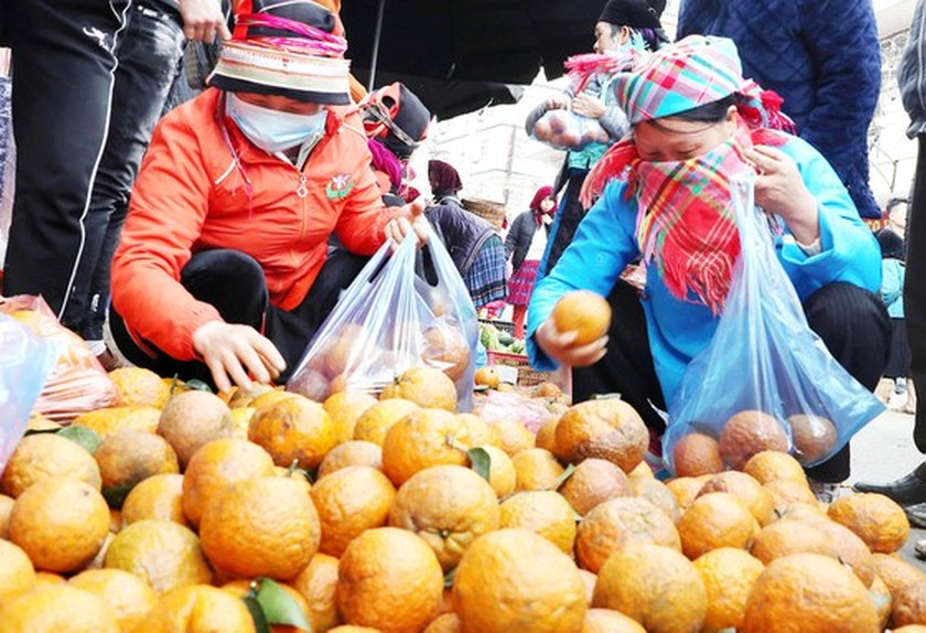 Meo Vac ethnic market becomes must-visit place in Ha Giang  ảnh 4