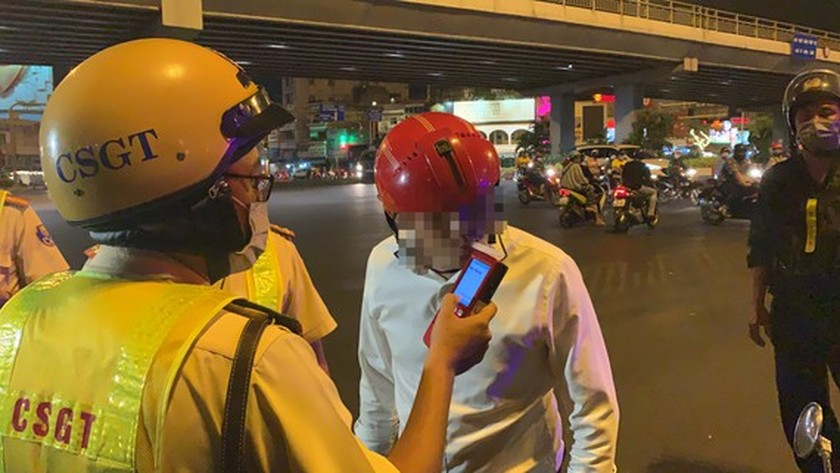 Traffic police penalize more than 7,000 cases of alcohol, drug abuse violations ảnh 3