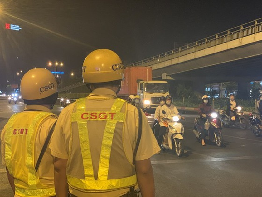 Traffic police penalize more than 7,000 cases of alcohol, drug abuse violations ảnh 4
