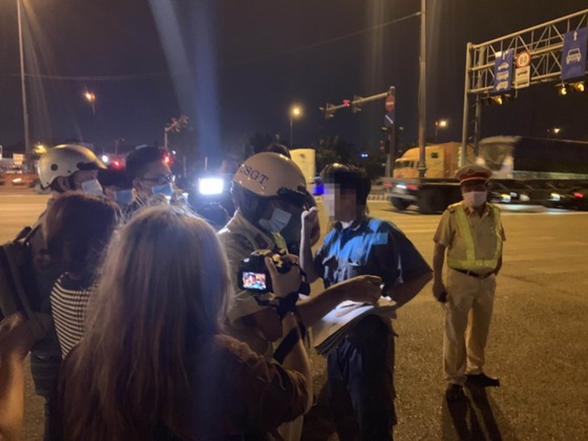 Traffic police penalize more than 7,000 cases of alcohol, drug abuse violations ảnh 6