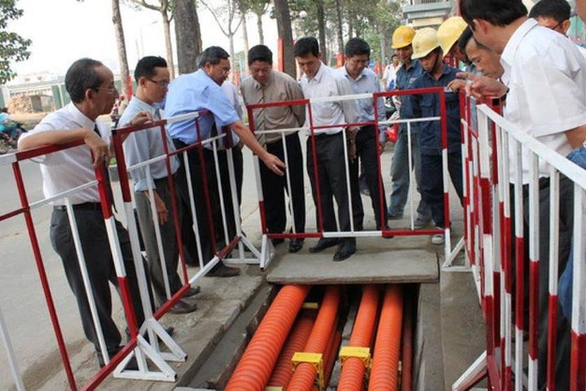 Power cable system to be installed underground along 10 streets of District 8 ảnh 1