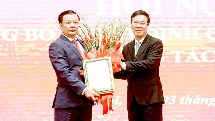 Politburo member Dinh Tien Dung assigned as Secretary of Hanoi Party Committee ảnh 1