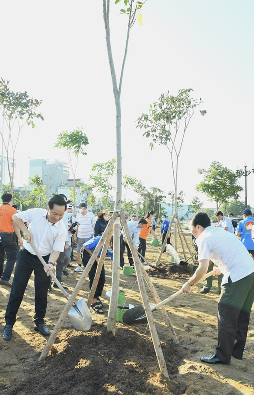 Thu Duc City launches tree- planting campaign for second phase  ảnh 1