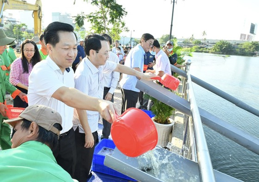 Thu Duc City launches tree- planting campaign for second phase  ảnh 3