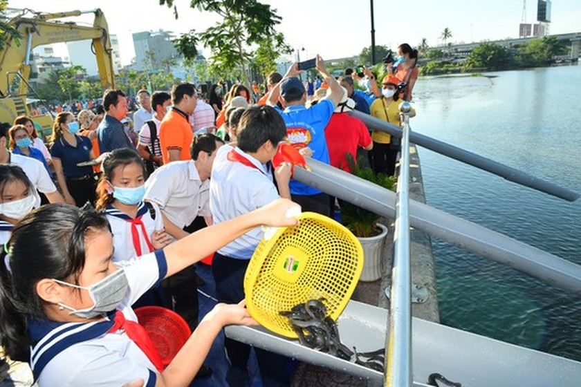Thu Duc City launches tree- planting campaign for second phase  ảnh 4