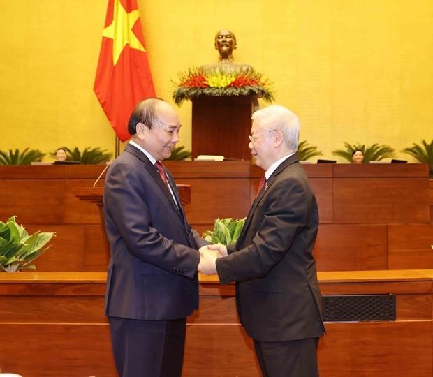 Nguyen Xuan Phuc elected as State President ảnh 1